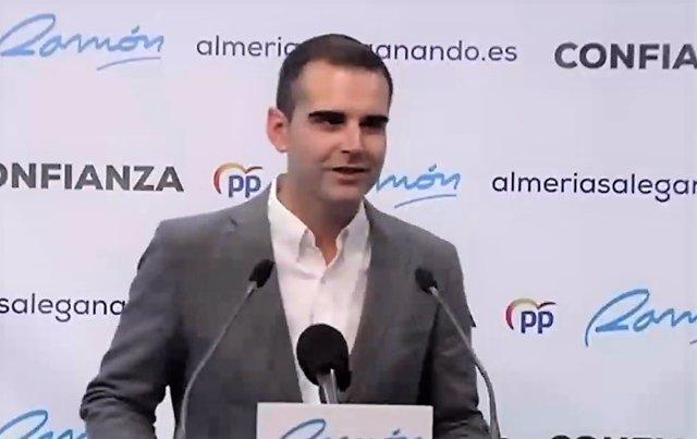 """Almería.-26M.-Fernández-Pacheco (PP) apela a la """"confianza"""" en su candidatura: """"No somos unos recién llegados"""""""