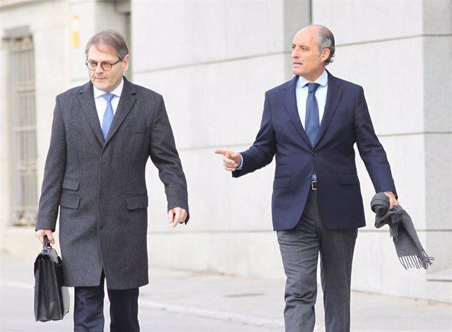 El expresidente de la Comunidad Valenciana, Francisco Camps, declara en la Audiencia Nacional por contratos de la Generalitat Valenciana con la Gürtel