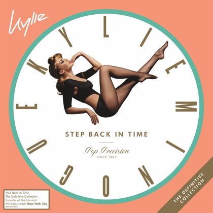 Kylie Minogue recopila sus mayores éxitos en Step Back in Time