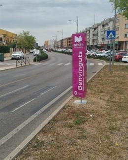 El Ayuntamiento de Marratxí mejora la delimitación del término municipal con tótems informativos