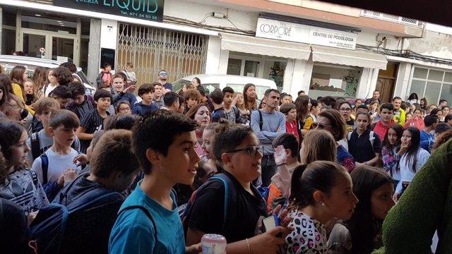 El Govern col·labora en les jornades protagonitzades pels actors de la pel·lícula 'Campions' a Sant Antoni