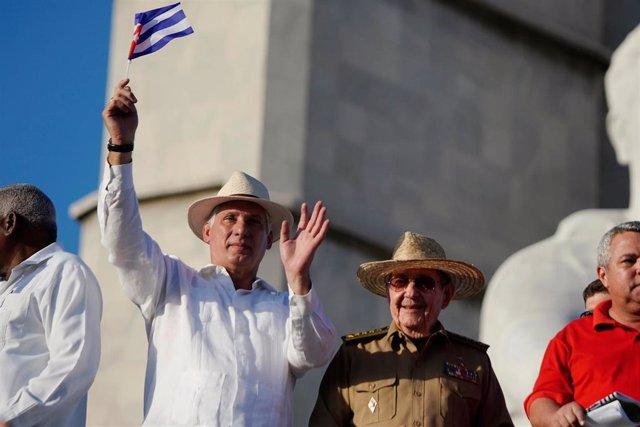Cuba.- Los cubanos se echan a la calle el 1 de mayo ante las renovadas amenazas de EEUU
