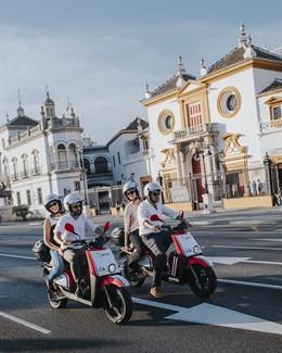 Sevilla.- Acciona lleva a Sevilla su servicio de motos eléctricas compartidas