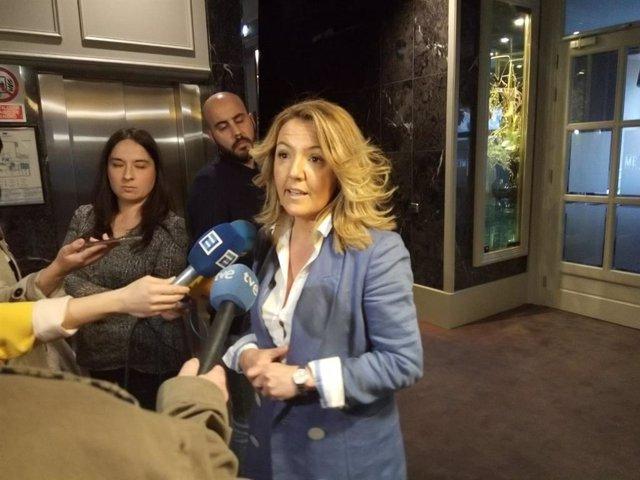 """26M.- Mallada (PP) lamenta que Barbón (PSOE) """"no se atreva"""" a debatir con ella"""