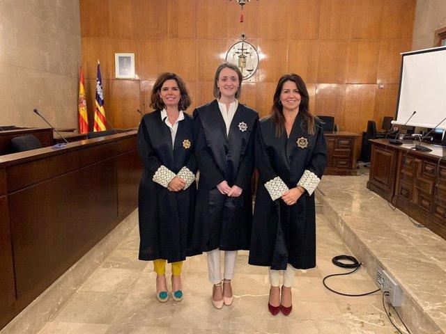 Paloma Miranda se incorpora al Juzgado de Primera Instancia de Inca tras superar el proceso selectivo