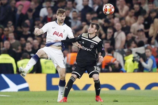 FOOTBALL - UEFA CHAMPIONS LEAGUE - 1/2 FINAL - TOTTENHAM v AJAX