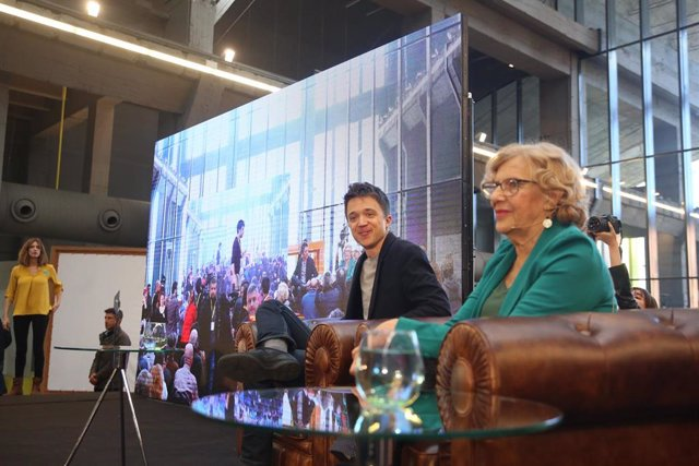 Errejón y Carmena descartan exportar la idea de la plataforma Más Madrid a unas elecciones generales