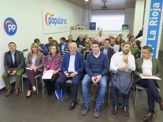 """Ceniceros: """"El PP ofrece a los riojanos nuestra pasión por seguir haciendo que La Rioja progrese"""""""