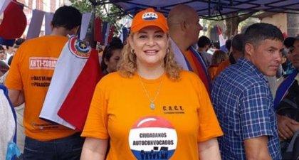 María Esther Roa, la 'escrachadora' de Paraguay