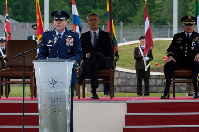 US General Tod Wolters sworn in as NATO commander in Belgium