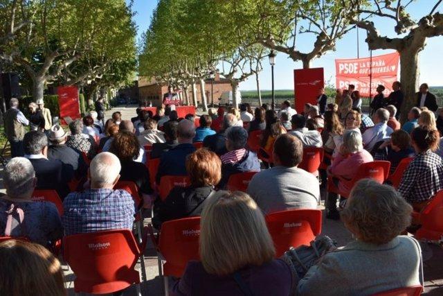 Tudanca reivindica el papel del PSOE para que Benavente sea Área Funcional Urbana