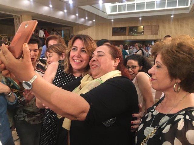 """Susana Díaz cuestiona la """"credibilidad"""" de Moreno y acusa al Gobierno andaluz de ser """"rehén de la extrema derecha"""""""