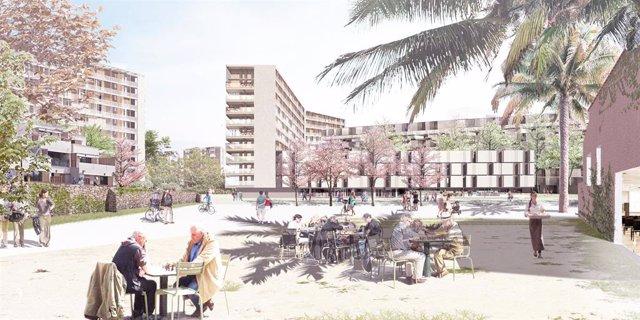 Barcelona aprova construir 3.550 pisos i nous equipaments en Sant Martí
