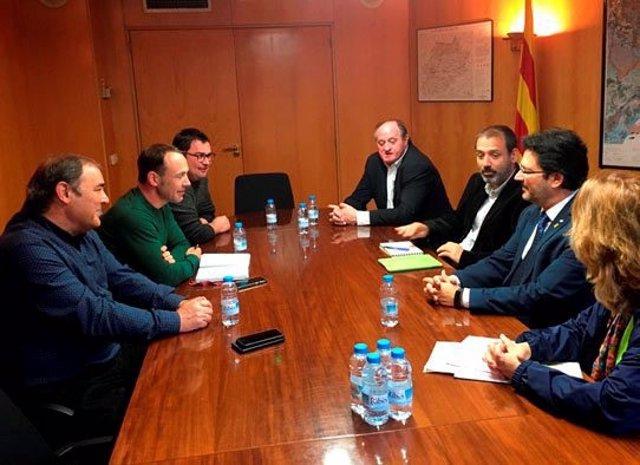 Inaugurat el nou tram de la carretera que uneix Linyola amb Bellcaire d'Urgell (Lleida)
