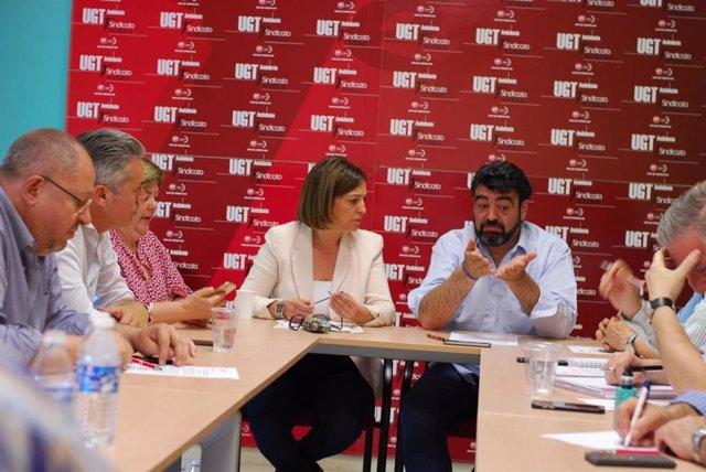"""Córdoba.- 26M.- UGT pide a Isabel Ambrosio que la próxima legislatura sea la de """"la industria y el desarrollo logístico"""""""