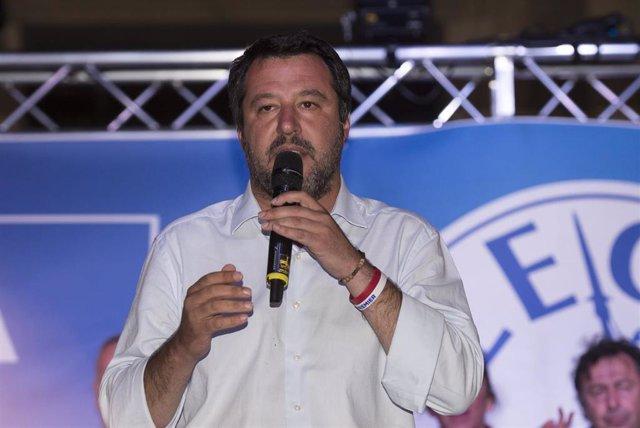 Matteo Salvini presents League candidates to European Parliament