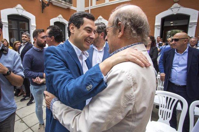 """AV.- Moreno señala que """"si el PIB de Andalucía está en el grupo de cabeza de crecimiento"""" es porque """"el cambio funciona"""""""