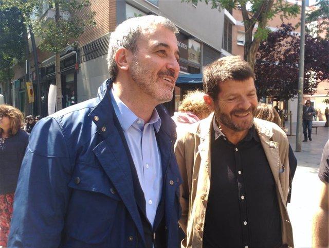 """26M.- Collboni (PSC) Insisteix En Un Cara A Cara Amb Maragall (ERC): """"O 'Procés' O Barcelona"""""""