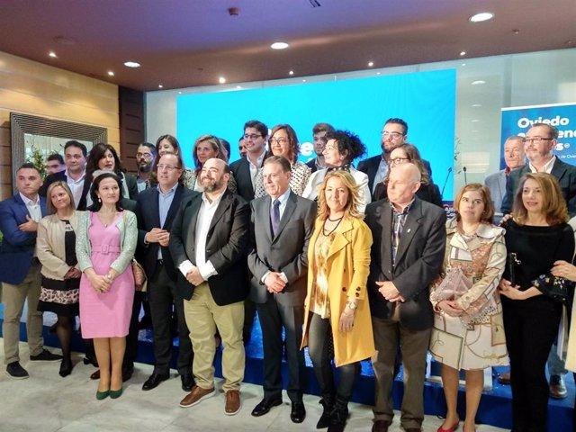 """26M.-Oviedo.- Canteli (PP) Quiere Devolver La Ciudad """"A La Prosperidad Y El Dinamismo Abandonado"""" Por El Tripartito"""
