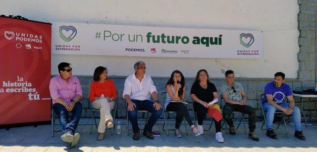 """26M.- De Miguel Subraya Que Unidas Por Extremadura Es La """"Única Garantía"""" De Políticas Para La Mayoría Social"""