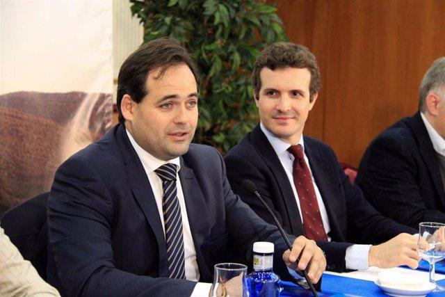 Pablo Casado y Paco Núñez, PP