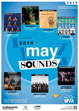 Málaga.- Arranca en Riogordo el ciclo 'May Sounds 2019', que llevará la música pop-rock local a la provincia de Málaga