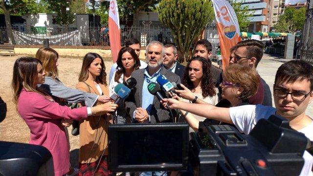 """26M.- Carrizosa (Cs) Dice Que Serán Un Dique """"Contra El Nacionalismo"""" En Los Municipios"""
