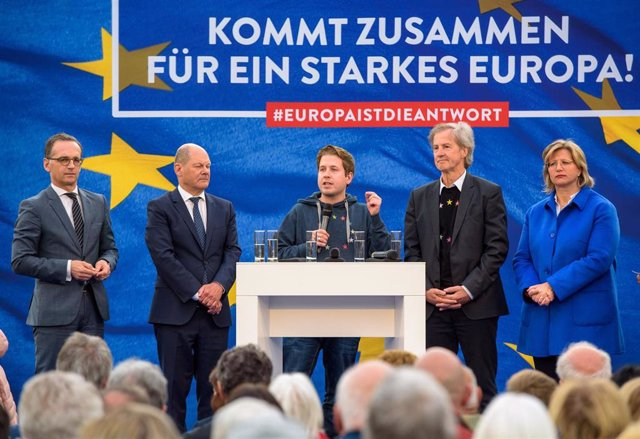 SPD campaign for European elections in Germany