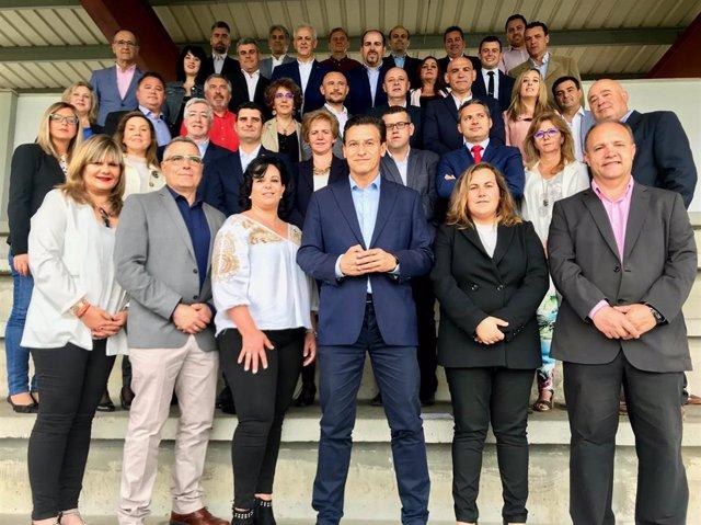 Granada.- 26M.- Los candidatos de Cs en los municipios del área metropolitana abogan por un nuevo proyecto de desarrollo