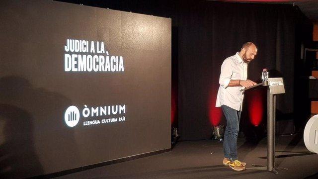 """Mauri (Òmnium) acusa al PSOE de """"agravar"""" el conflicto catalán por no buscar soluciones"""