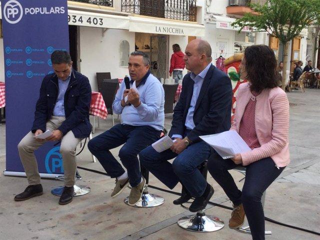 El PP de Ibiza impulsará un plan para que los barrios históricos vuelvan a ser un referente de la ciudad