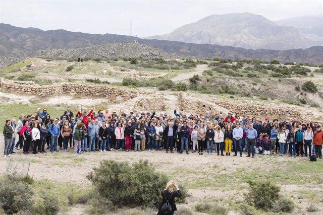 Sociedad e instituciones piden a la Unesco que Los Millares sean Patrimonio de la Humanidad