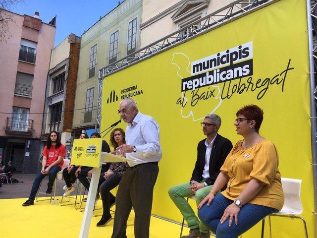 """Maragall (ERC) assegura que estan canviant una inrcia de vot: """"Pedro, no ens aneu a parar"""""""