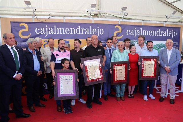 Dos queserías de Cáceres, una de Badajoz y otra de Cádiz ganan los premios de la Feria Nacional de Trujillo 2019