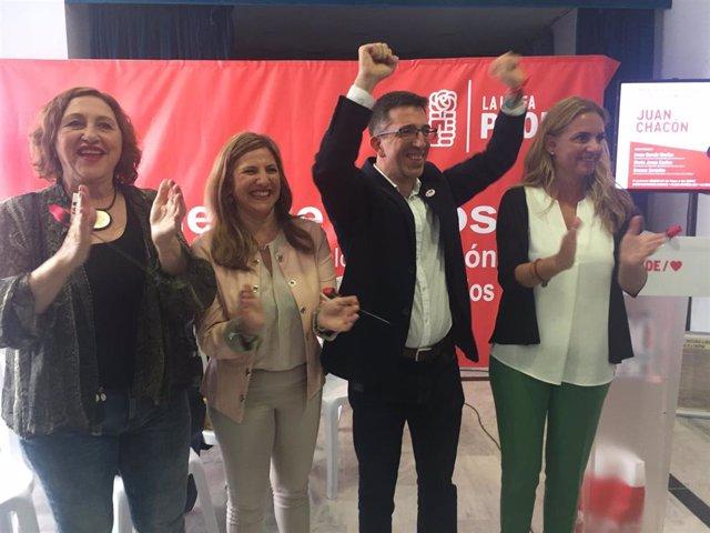 """Cádiz.- 26M.- PSOE agradece a La Línea """"su rotunda apuesta"""" en las generales y le pide que """"sigan confiando el 26M"""""""