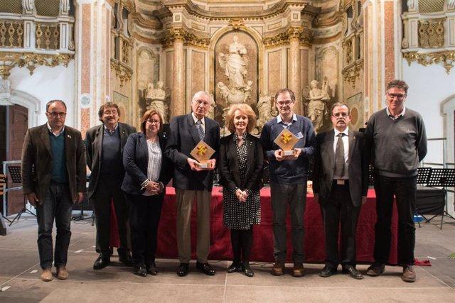 Cervera (Lleida) reúne a unos 200 acordeonistas y entrega los Premios Recercat 2019