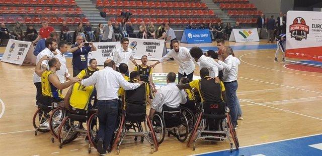 Baloncesto.- (Crónica) El Ilunion repite como subcampeón de Europa de baloncesto en silla de ruedas
