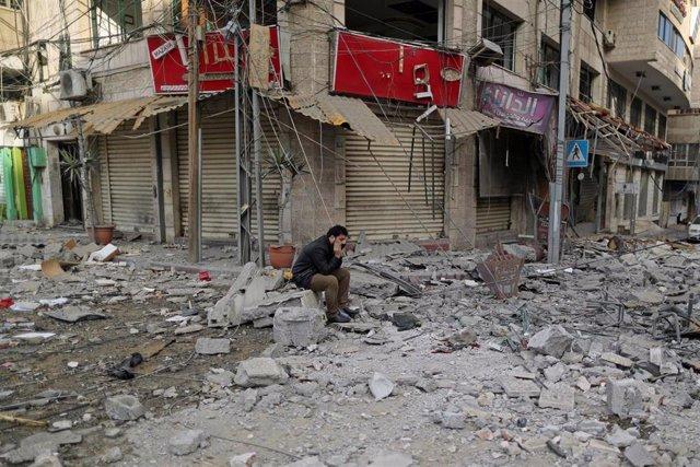 O.Próximo.- Israel reanuda sus ataques en Gaza tras la lluvia de cohetes de las últimas 24 horas