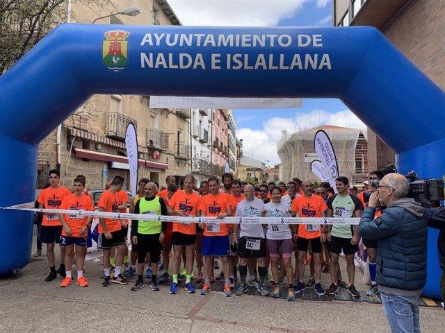 Deporte y solidaridad se dan la mano en la V Carrera Popular con Abel Antón Nalda-Islallana