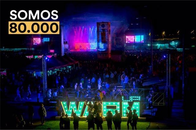Unas 80.000 personas consagran a WARM UP Estrella de Levante como uno de los grandes