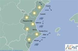 Cielos despejados en un domingo con las temperaturas mínimas en ascenso y pocos cambios en las máximas