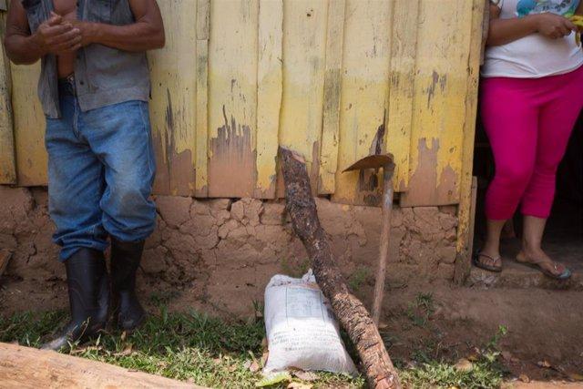 Honduras.- El CICR llama la atención de las necesidades de los desplazados y retornados en Honduras