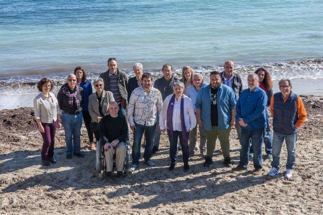 26M.- MÉS Y Podemos Presentan Las Listas De La Coalición De Cara A Las Municipales De Calvià