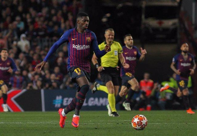 Soccer: Champions League - FC Barcelona v Liverpool