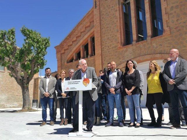 """Maragall (ERC) defiende crear una red de ciudades catalanas para un """"país-ciudad"""""""