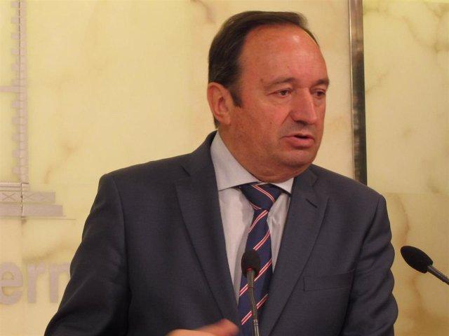 Pedro Sanz, presidente del Gobierno de La Rioja analiza PGE