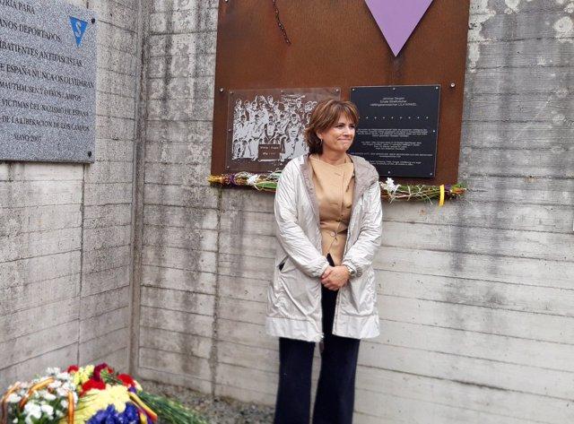 Foto de Delgado en Mauthausen