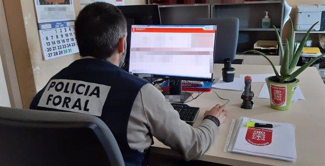 Sucesos.- Policía Foral alerta de una remesa de correos falsos que extorsionan con supuestas imágenes sexuales