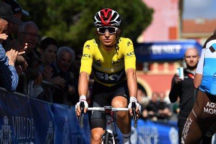 El colombiano Egan Bernal (Ineos) sufre una lesión de clavícula y se perderá el Giro de Italia