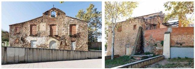 Barcelona restaurar la masia de Ca Valent al barri de Porta de Nou Barris